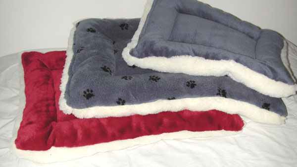 Double Happiness Stuffed Dog Beds